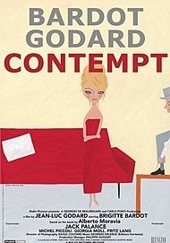 "Movie poster for ""CONTEMPT"""