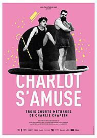 "Movie poster for ""CHARLOT S'AMUSE"""