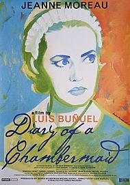 "Movie poster for ""DIARY OF A CHAMBERMAID"""