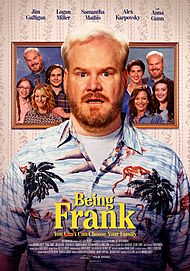"Movie poster for ""BEING FRANK"""