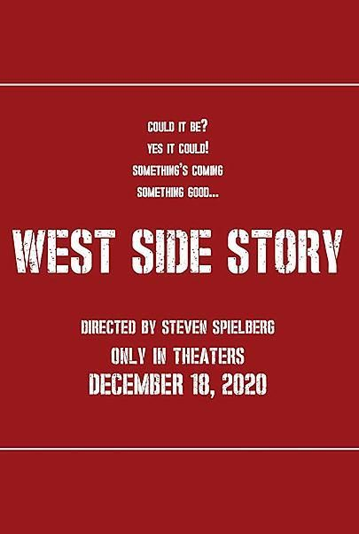 "Movie poster for ""WEST SIDE STORY"""