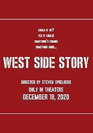 "Filmplakat für ""WEST SIDE STORY"""