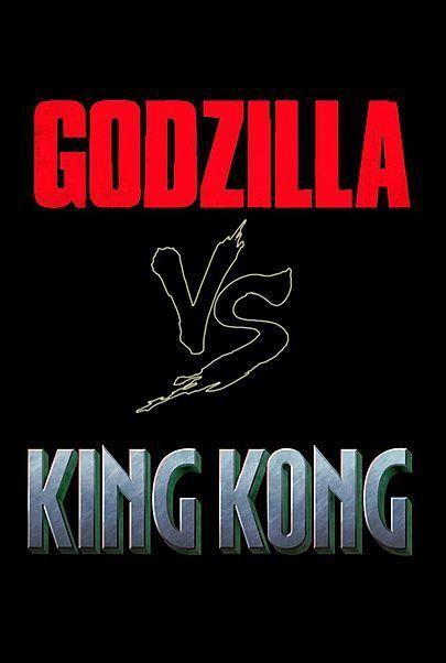 "Filmplakat für ""GODZILLA VS. KONG"""