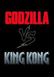 "Movie poster for ""GODZILLA VS. KONG"""