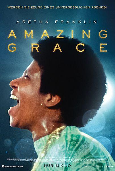 """Filmplakat für """"ARETHA FRANKLIN: AMAZING GRACE"""""""