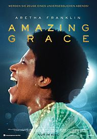 "Movie poster for ""ARAETHA FRANKLIN: AMAZING GRACE"""