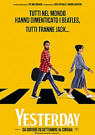 "Movie poster for ""YESTERDAY"""