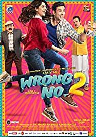"""Movie poster for """"WRONG NO. 2"""""""