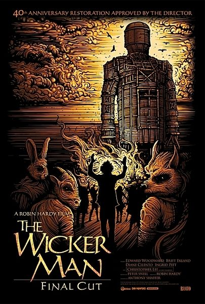 "Movie poster for ""THE WICKER MAN"""
