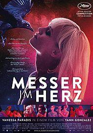 """Filmplakat für """"MESSER IM HERZ"""""""