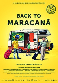 "Movie poster for ""BACK TO MARACANA"""