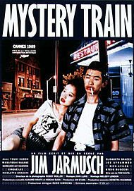 "Movie poster for ""MYSTERY TRAIN"""