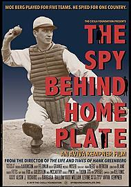 "Movie poster for ""THE SPY BEHIND HOME PLATE"""