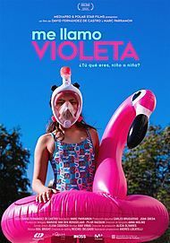"Movie poster for ""MY NAME IS VIOLETA"""