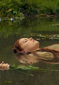 "Movie poster for ""OPHELIA"""