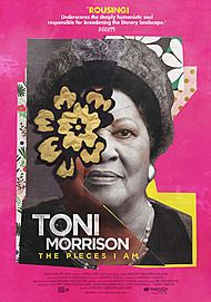 "Movie poster for ""TONI MORRISON: THE PIECES I AM"""