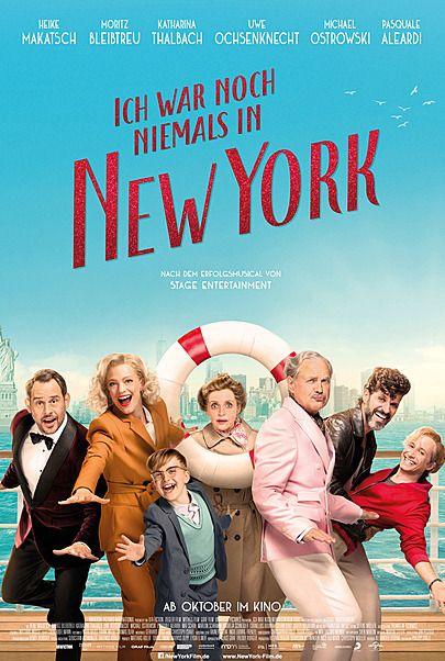 """Filmplakat für """"ICH WAR NOCH NIEMALS IN NEW YORK"""""""