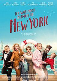 """Movie poster for """"ICH WAR NOCH NIEMALS IN NEW YORK"""""""