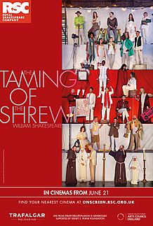 "Movie poster for ""THE TAMING OF THE SHREW - RSC"""