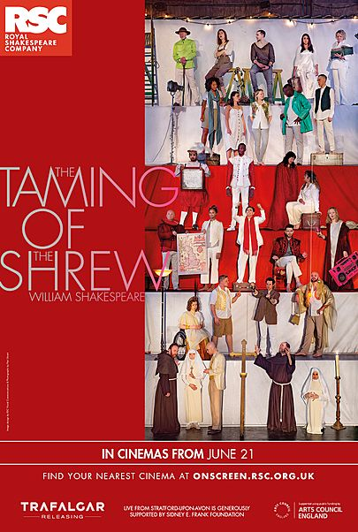 """Movie poster for """"THE TAMING OF THE SHREW - RSC"""""""
