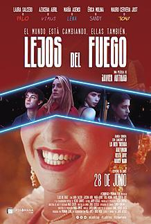 "Movie poster for ""LEJOS DEL FUEGO"""