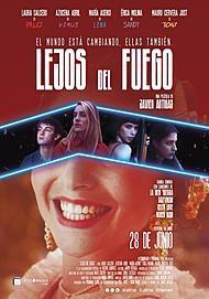 """Movie poster for """"LEJOS DEL FUEGO"""""""