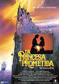 "Movie poster for ""THE PRINCESS BRIDE"""