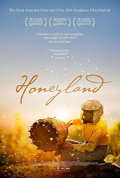 "Movie poster for ""HONEYLAND"""