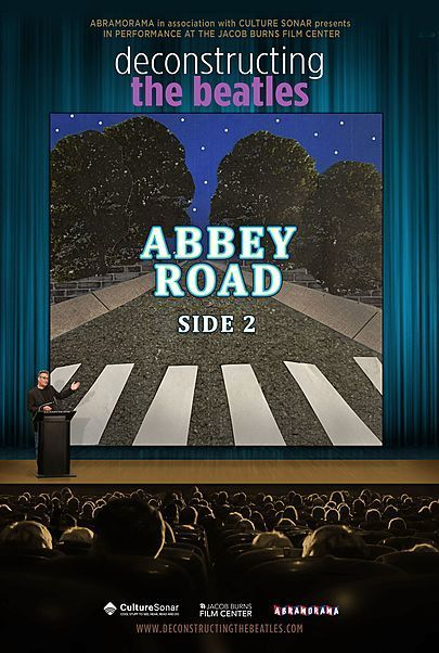 "Movie poster for ""DECONSTRUCTING THE BEATLES: ABBEY ROAD SIDE 2"""