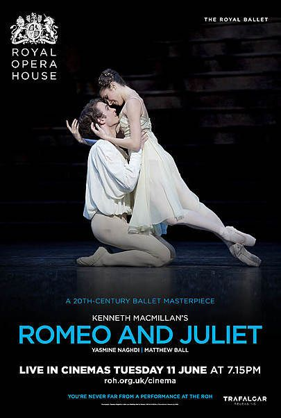 """Movie poster for """"ROMEO AND JULIET - ROH LONDON 2018/2019"""""""