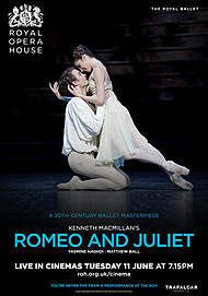 "Movie poster for ""ROMEO AND JULIET - ROH LONDON 2018/2019"""