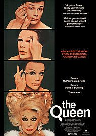 "Movie poster for ""THE QUEEN """