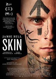 """Filmplakat für """"SKIN"""""""