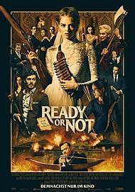 """Filmplakat für """"READY OR NOT - AUF DIE PLÄTZE, FERTIG, TOT"""""""