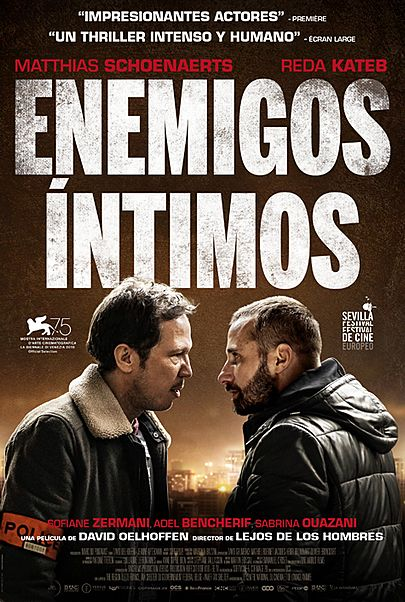 "Movie poster for ""CLOSE ENEMIES"""