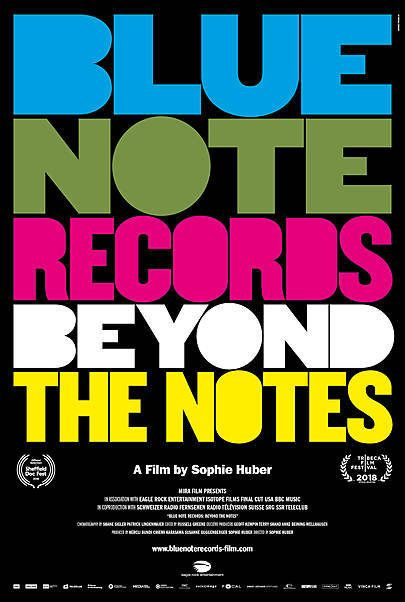 """Movie poster for """"BLUE NOTE RECORDS: BEYOND THE NOTES"""""""