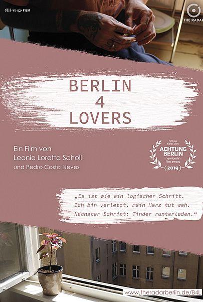 "Filmplakat für ""BERLIN 4 LOVERS"""