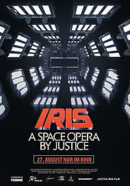 "Movie poster for ""IRIS : A SPACE OPERA BY JUSTICE"""