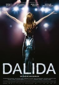 "Movie poster for ""DALIDA"""