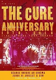 """Movie poster for """"THE CURE – ANNIVERSARY 1978-2018 - LIVE IN HYDE PARK LONDON"""""""
