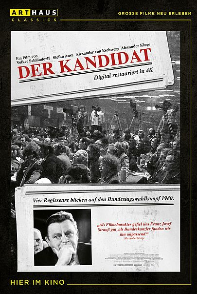 """Filmplakat für """"DER KANDIDAT"""""""