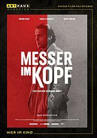 """Filmplakat für """"MESSER IM KOPF"""""""
