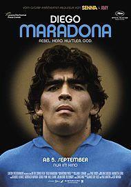 """Filmplakat für """"DIEGO MARADONA"""""""