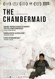 "Movie poster for ""THE CHAMBERMAID"""