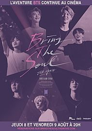 """Movie poster for """"BTS WORLD TOUR LOVE YOURSELF IN SEOUL"""""""