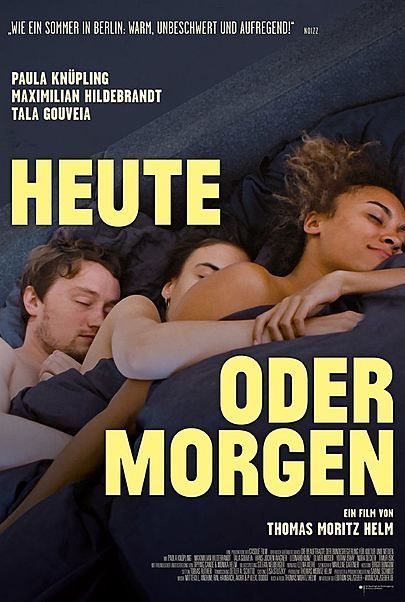 "Movie poster for ""Heute oder Morgen"""
