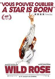 "Movie poster for ""WILD ROSE"""