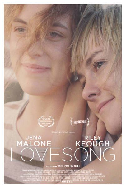 """Movie poster for """"LOVESONG"""""""