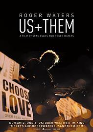 "Filmplakat für ""ROGER WATERS  US + THEM"""