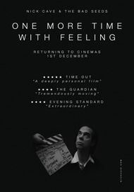 "Movie poster for ""NICK CAVE & THE BAD SEEDS: ONE MORE TIME WITH FEELING"""